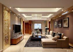 歐式新古典家庭客廳裝飾畫裝修圖片