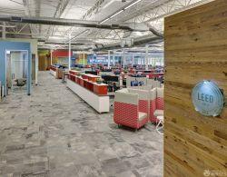 最新辦公室室內石材地面裝修效果圖片大全