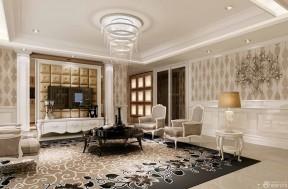 客廳吊頂 歐式新古典