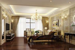 客廳吊頂 新古典客廳效果圖