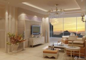 歐式客廳裝修效果圖 新古典客廳效果圖
