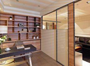 屏風隔斷 家庭書房裝修