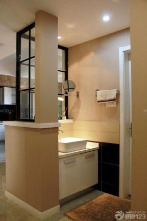 公共衛生間效果圖 浴室柜圖片