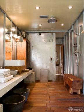廁所裝飾效果圖 東南亞設計