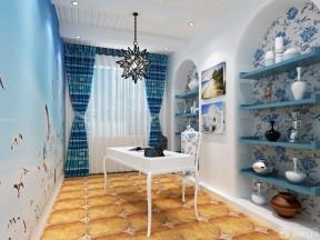 地中海风格装饰设计 书房装饰