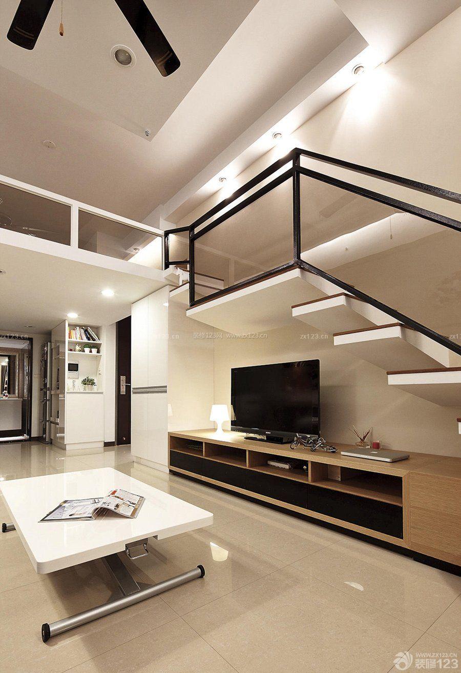 20平米小户型loft公寓装修案例图