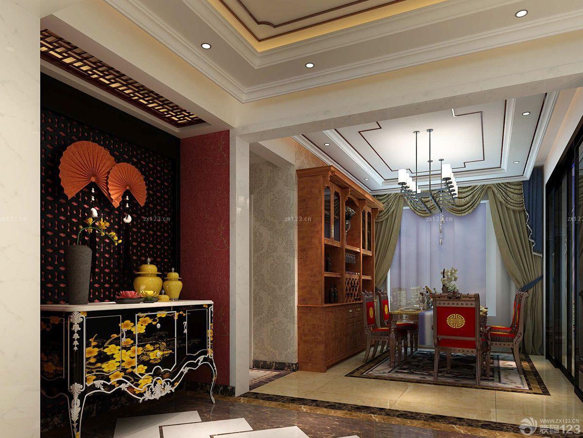 中式风格100平米房子装修图图片