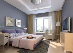 卧室设计图纸 压纹壁纸装修效果图片