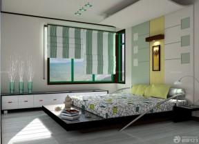 卧室设计图纸 遮光帘装修效果图片