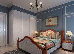 70平方房子裝修效果圖 雙人床裝修效果圖片