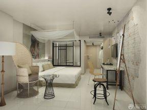 90平米兩室兩廳裝修 臥室背景墻裝修效果圖