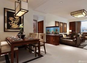 90平米兩室兩廳裝修 中式混搭裝修效果圖