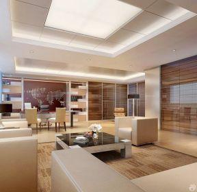 90平米兩室兩廳客廳兼書房裝修效果圖-每日推薦