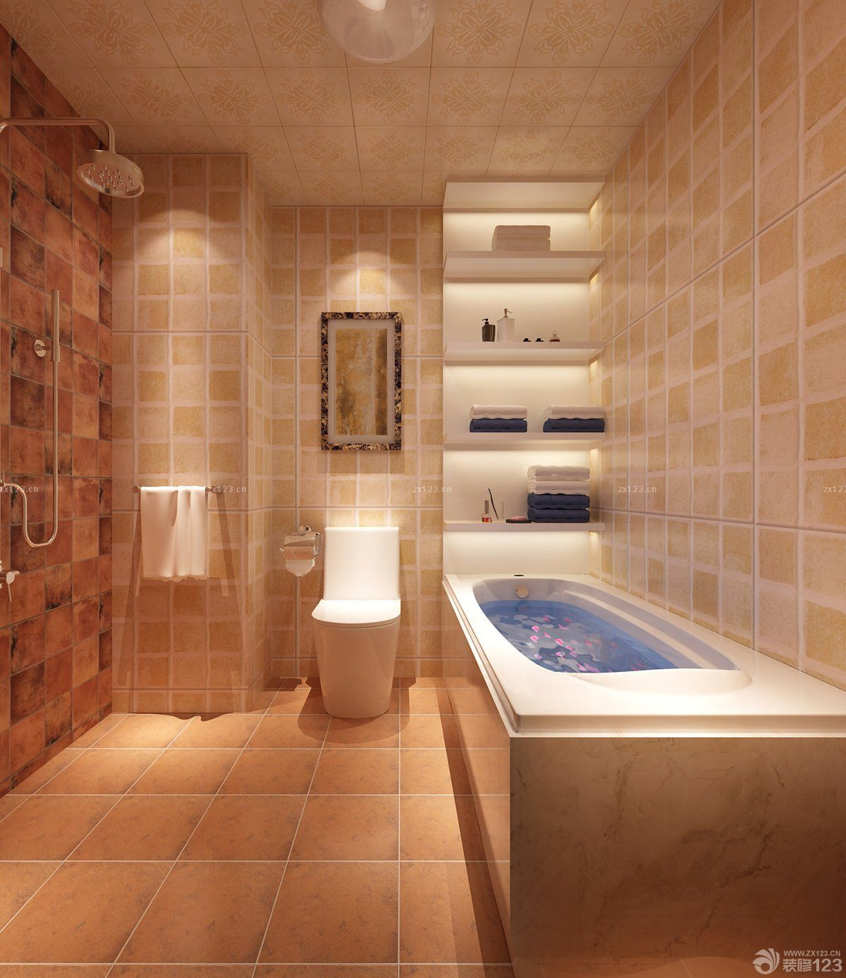40平米小户型家装卫生间装修效果图