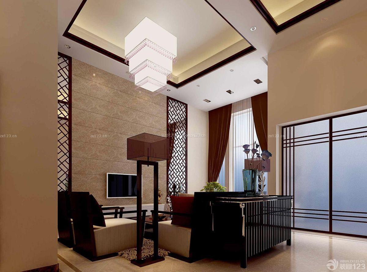 美式家装100平方米房子装修效果图片
