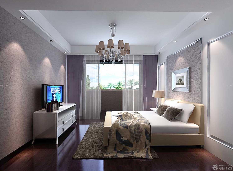 80平两室一厅客厅仿古砖装修效果图