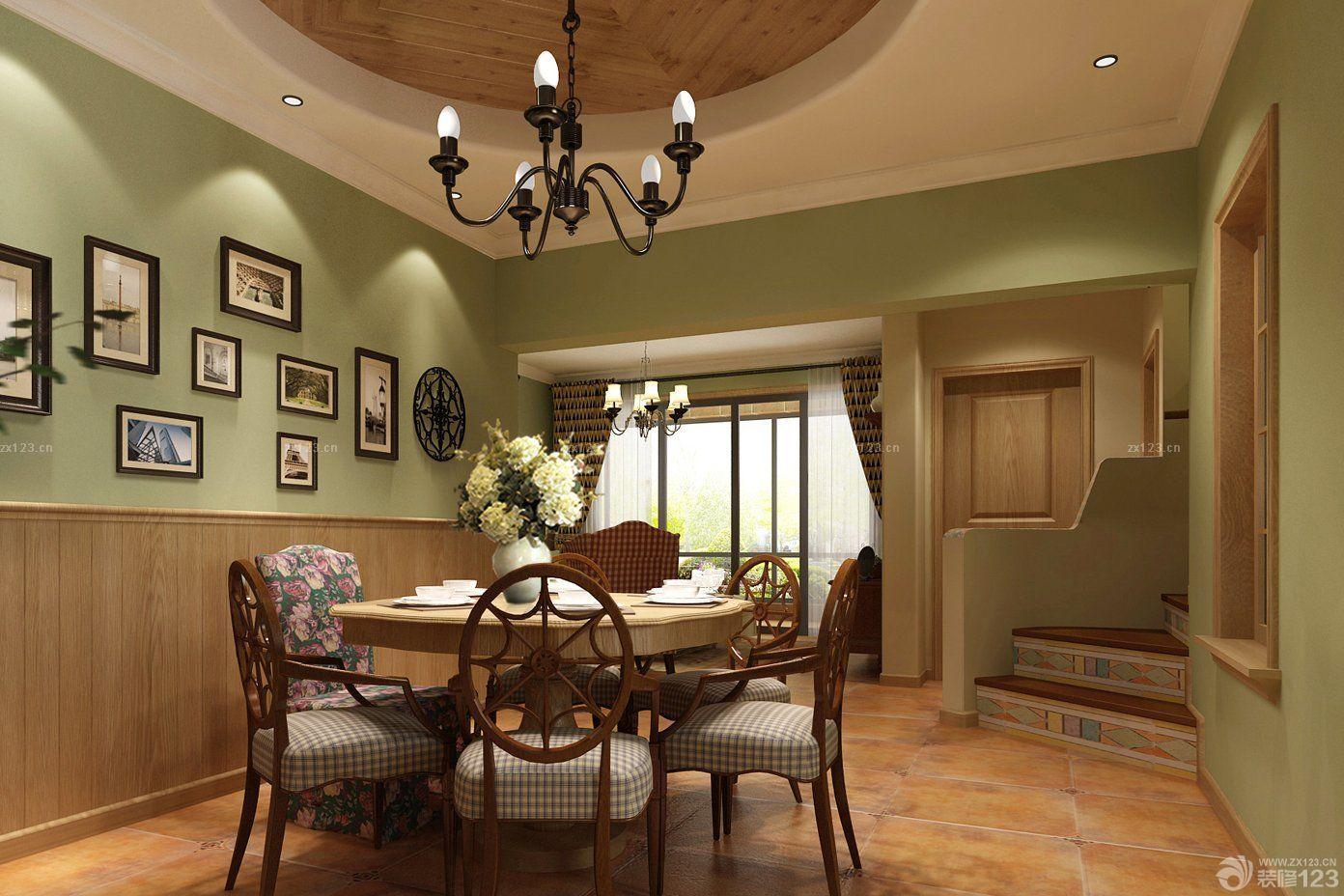 60平米小户型家装餐厅装修效果图