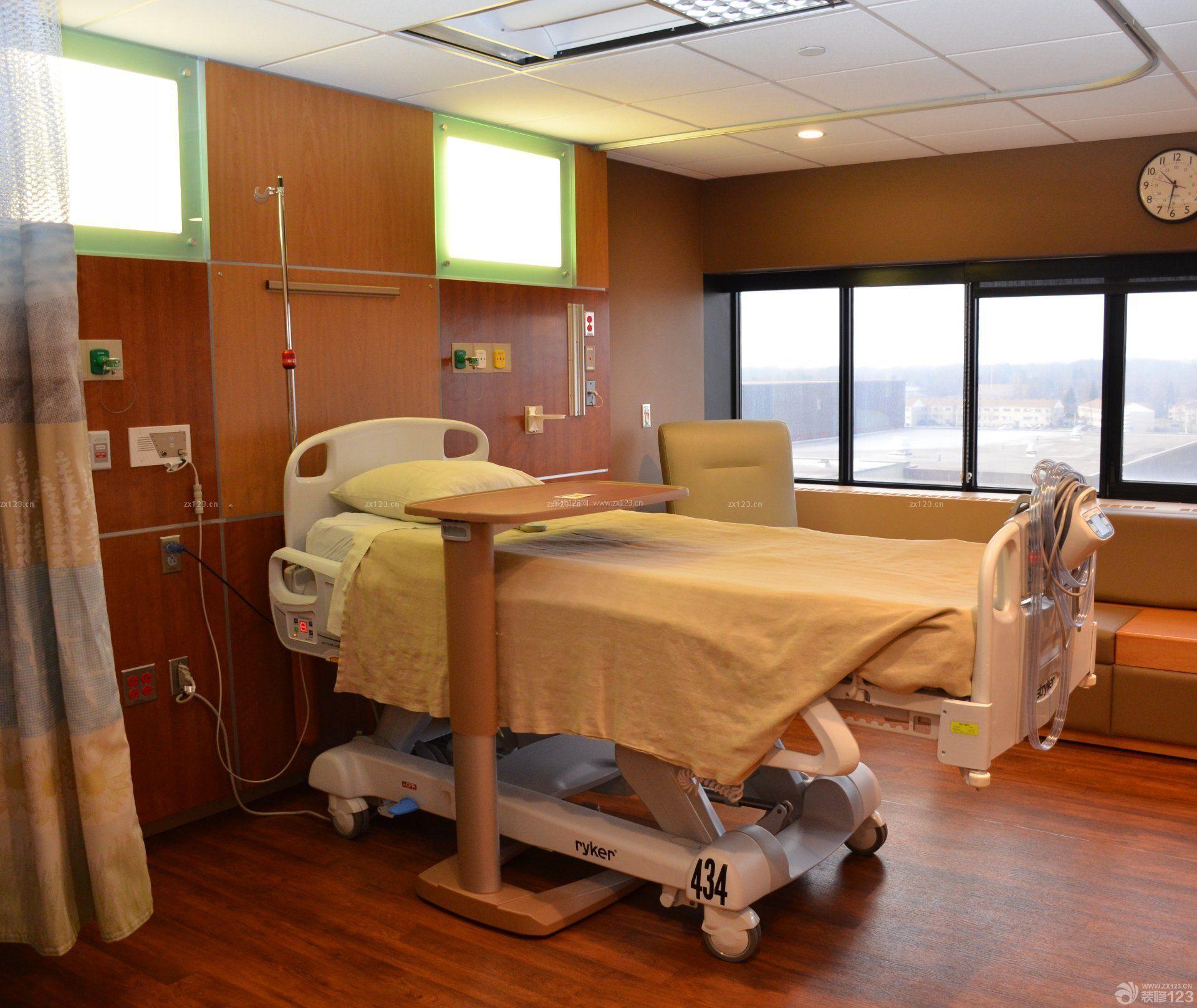 口腔医院室内背景墙设计效果图片