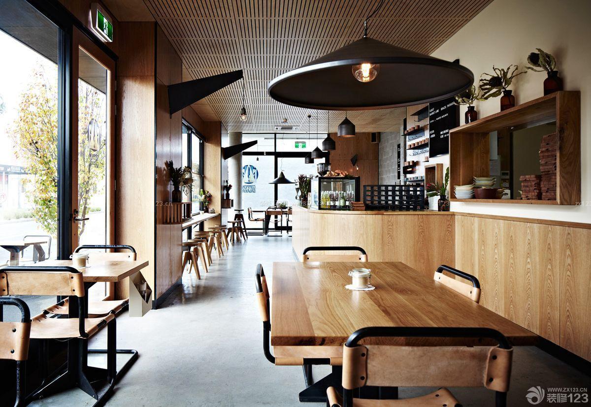乡村酒吧咖啡厅效果图欣赏_装修123效果图