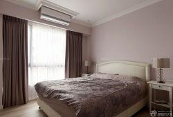 現代美式風格臥室裝飾效果圖
