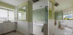 衛生間馬賽克顏色裝飾圖片