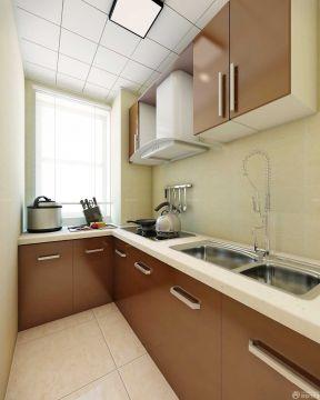 80平米两室一厅装修效果图 超小厨房装修效果图