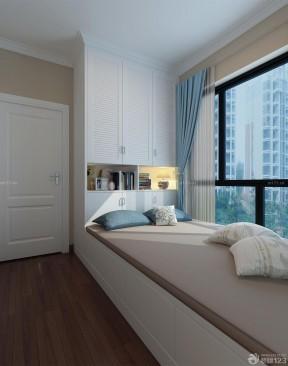 80平米三室一厅小户型装修 单人床装修效果图片