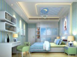 110平米三室兩廳兩衛臥室壁紙裝修效果圖