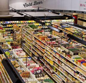 超市装修图 陈列设计图片