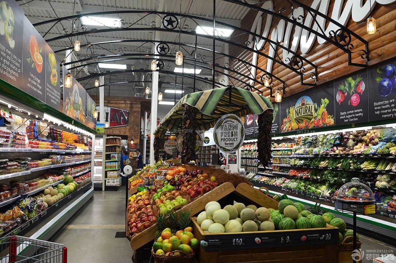 创意超市装饰装修效果图图片
