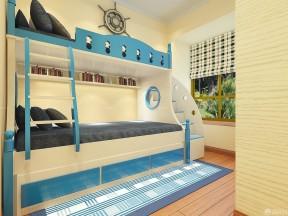 臥室裝修設計 高低床裝修效果圖片