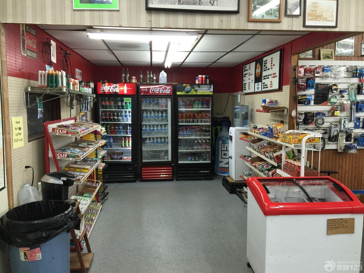 复古欧式风格装修小超市
