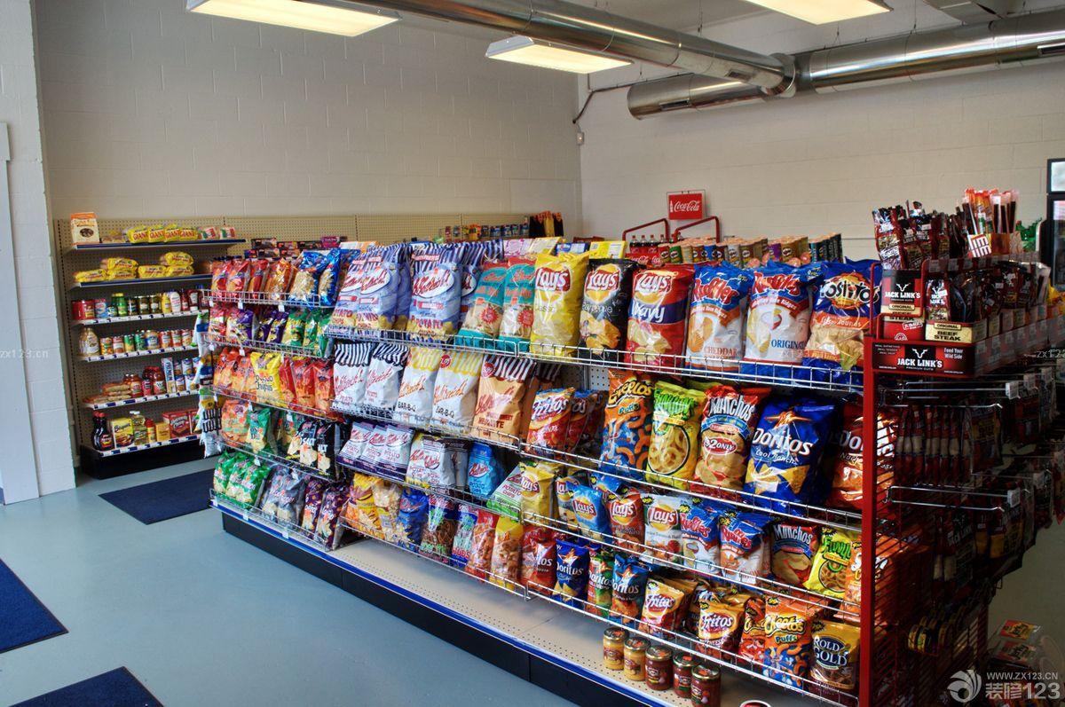 创意欧美装修小超市设计图片