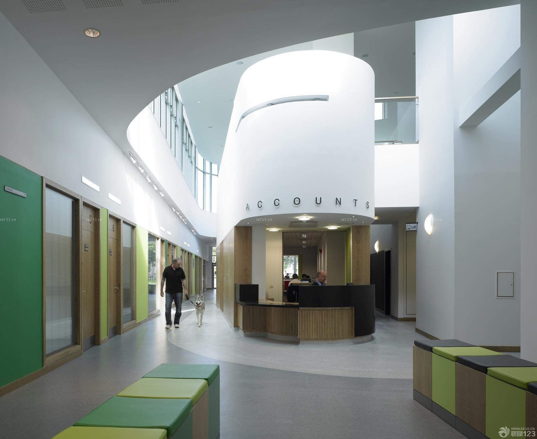 国外动物医院最新室内装修效果图2016图片