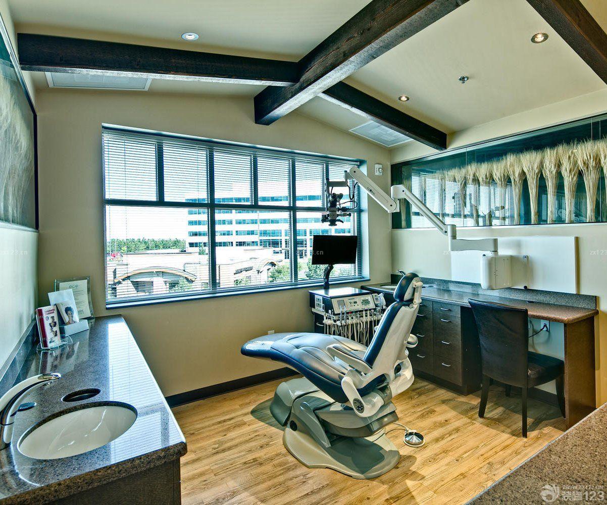 国外口腔医院室内窗户装修设计图片欣赏