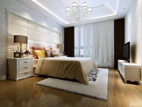 臥室背景墻 歐式臥室設計效果圖