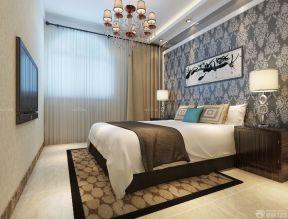 臥室背景墻 壁紙背景墻效果圖