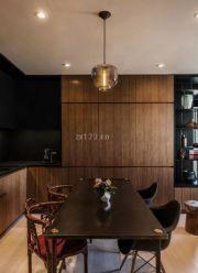 小公寓开放式厨房装修效果图片