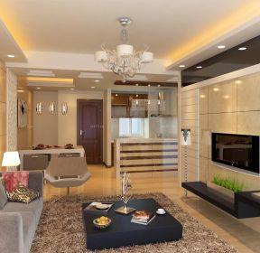 交換空間小戶型客廳吊頂設計效果圖-每日推薦