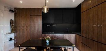 小公寓开放式厨房装修设计图片