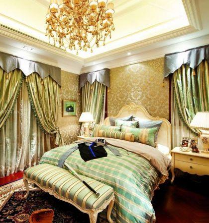简约现代风格卧室颜色搭配装修效果图
