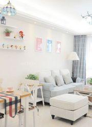 70平米二居室婚房最新设计效果图