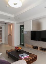现代风格电视墙装修效果图温馨样板房