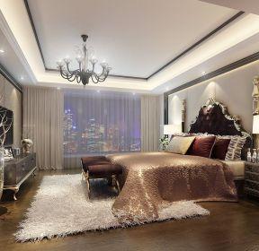 歐式臥室背景墻設計圖-每日推薦