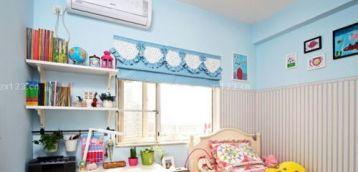 儿童房原木色家具装修设计