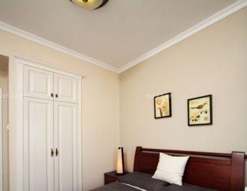 简单卧室衣柜装修效果图片2016