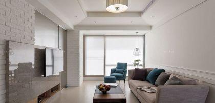 温馨小户型客厅颜色搭配装修效果图片2016