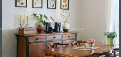 现代风格原木色家具装修图片