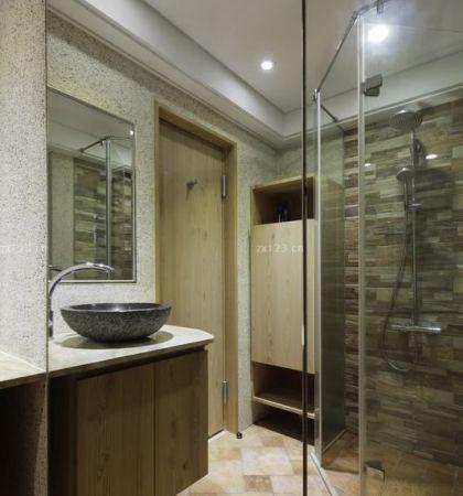 卫生间淋浴隔断装饰图片