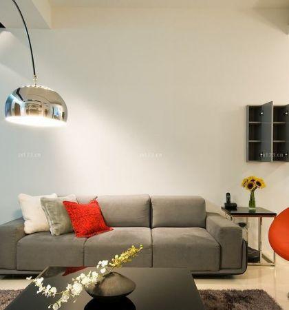简单客厅沙发摆放装修效果图片